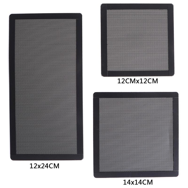 PC Case Cooling Fan Magnetic Dust Filter Mesh Net Cover Computer Guard For Computer/PC Case Cooling Fan 12x12CM,14x14CM,12x24CM