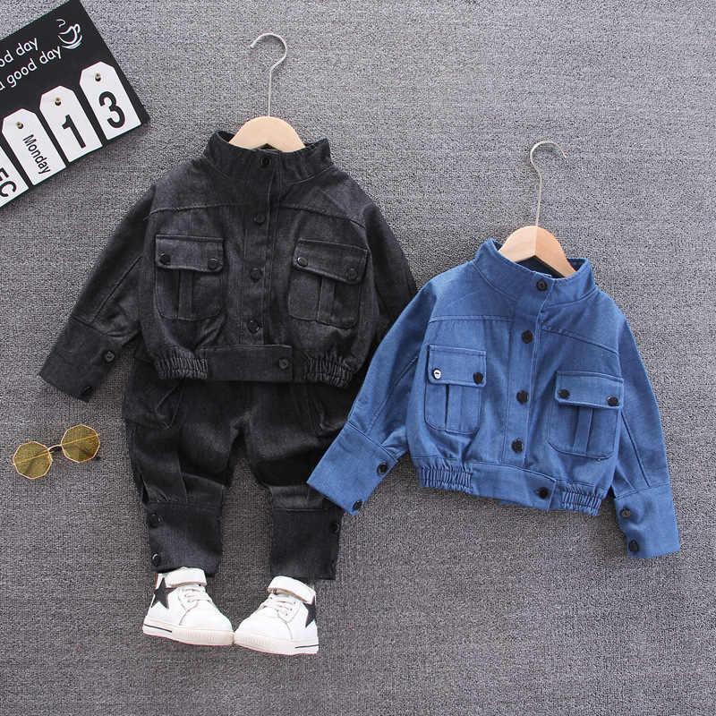 Baby Jungen Kleidung 2020 Neue Herbst Frühling Kinder Kleidung Denim Top Jeans 2pcs Outfit Anzug Kinder Kleidung Sets 2 3 4 5 Jahre Clothing Sets Aliexpress