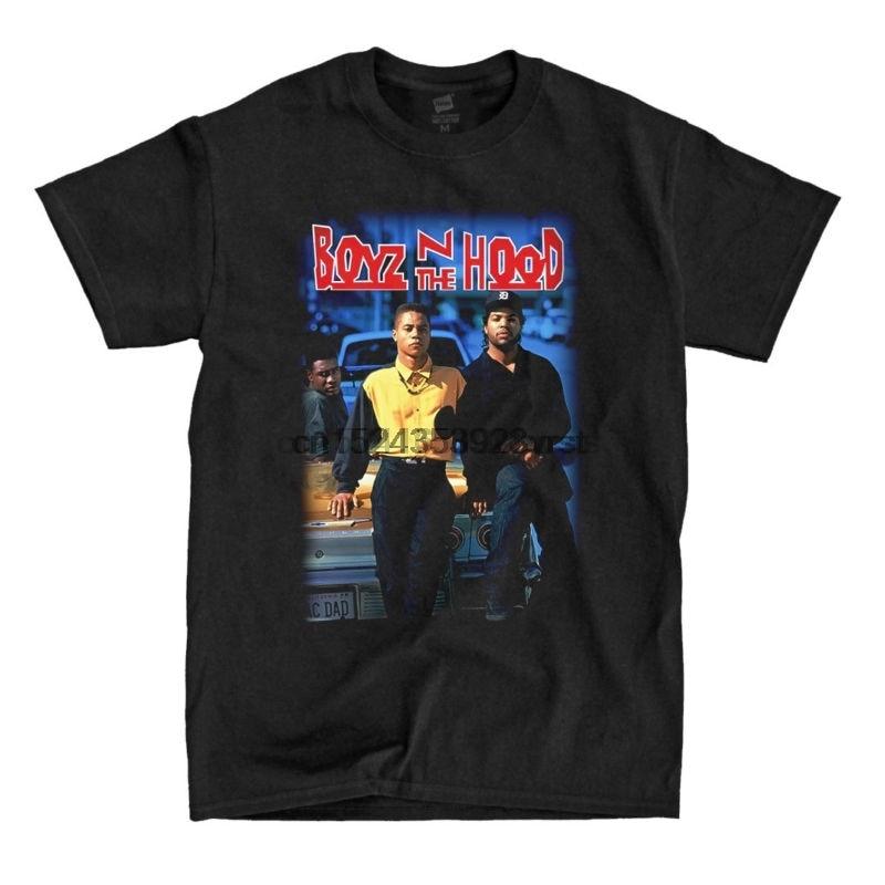 Boyz n the hood-camisa preta-envia rápido! De alta Qualidade!