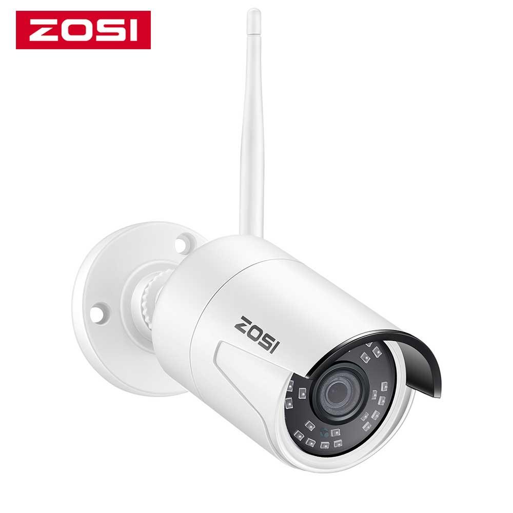ZOSI 1080p HD 2.0MP Wireless IP Network Camera Weatherproof Outdoor cctv camera for ZOSI Wireless NVR kit