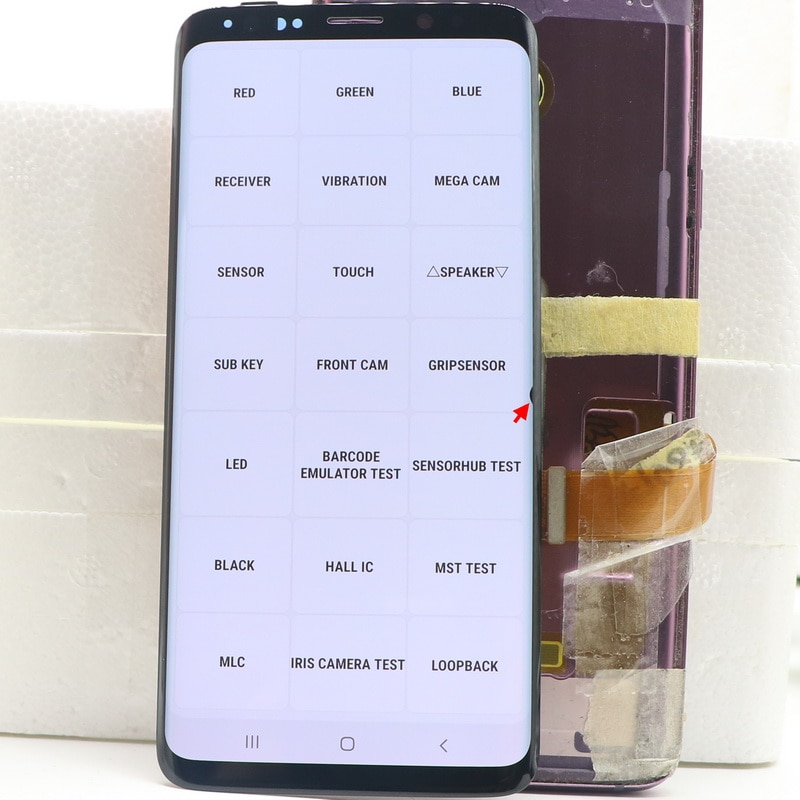 100% Original LCD For Samsung Galaxy S9 G960 G960F SM-G960F/DS G960U LCD Display Touch Screen Digitizer Assembly With Back cover enlarge