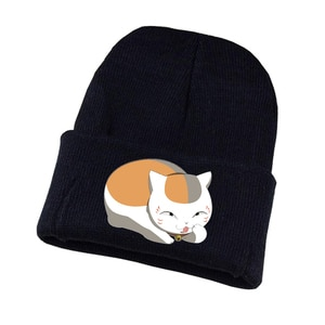 Gnime Natsume Yuujinchou Knitted hat Cosplay hat Unisex Print Adult Casual Cotton hat teenagers winter Knitted Cap