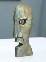 Tetes de cloche personnalisees en metal et resine  Sculpture de cloche de Style nordique  decoration artisanale  mode maison  modele de piece  deco