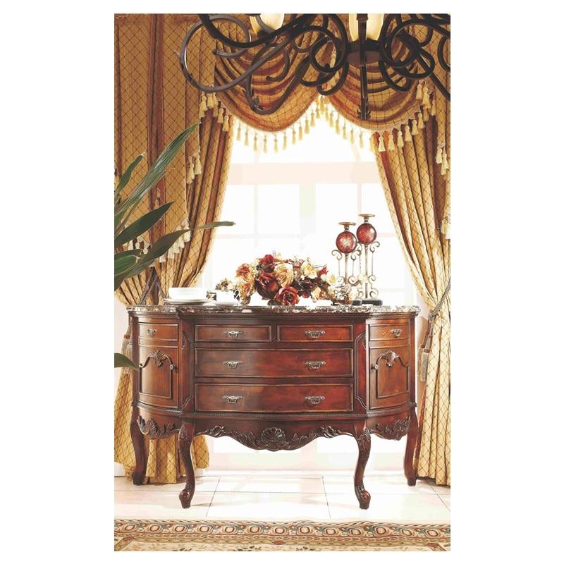 Conjunto de comedor de muebles de lujo, gabinete lateral de china, conjunto de gabinete Luxus, mobel, esszimmer, china, schrank seite, schrank GH165