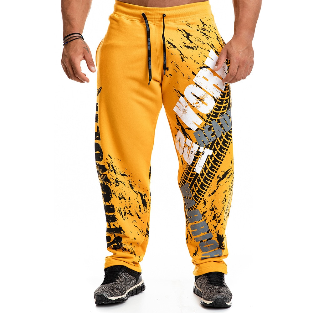 New Fashion Print Loose Casual Pants Joggers Sweatpants Cotton Track Pants Men Gyms Fitness Workout Trousers Male Sportswear