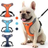dog harness vests pet vest small medium large pets no pull adjustable reflective breathable light vest style chests straps