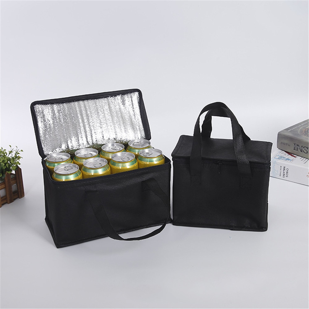 Portable Lunch Cooler Bag Folding Insulated Picnic Ice Pack Food Thermal Drink Carrier Bags Delivery New