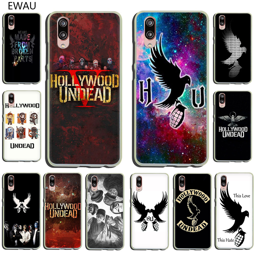 Жесткий чехол для телефона EWAU Голливуд undead для huawei P30 P20 P10 P9 P8 Lite Mini Pro smart plus 2019