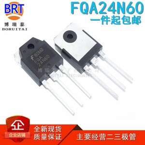5pcs/lot FQA24N60  Transistor TO-3P 24N60 24A 600V