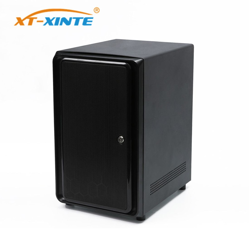 XT-XINTE 2/4/8 Bay Network NAS Case ITX Storage Server Case USB 1UFLEX File Server for HTPC 2.5inch 3.5inch Hard Drive Hot Swap
