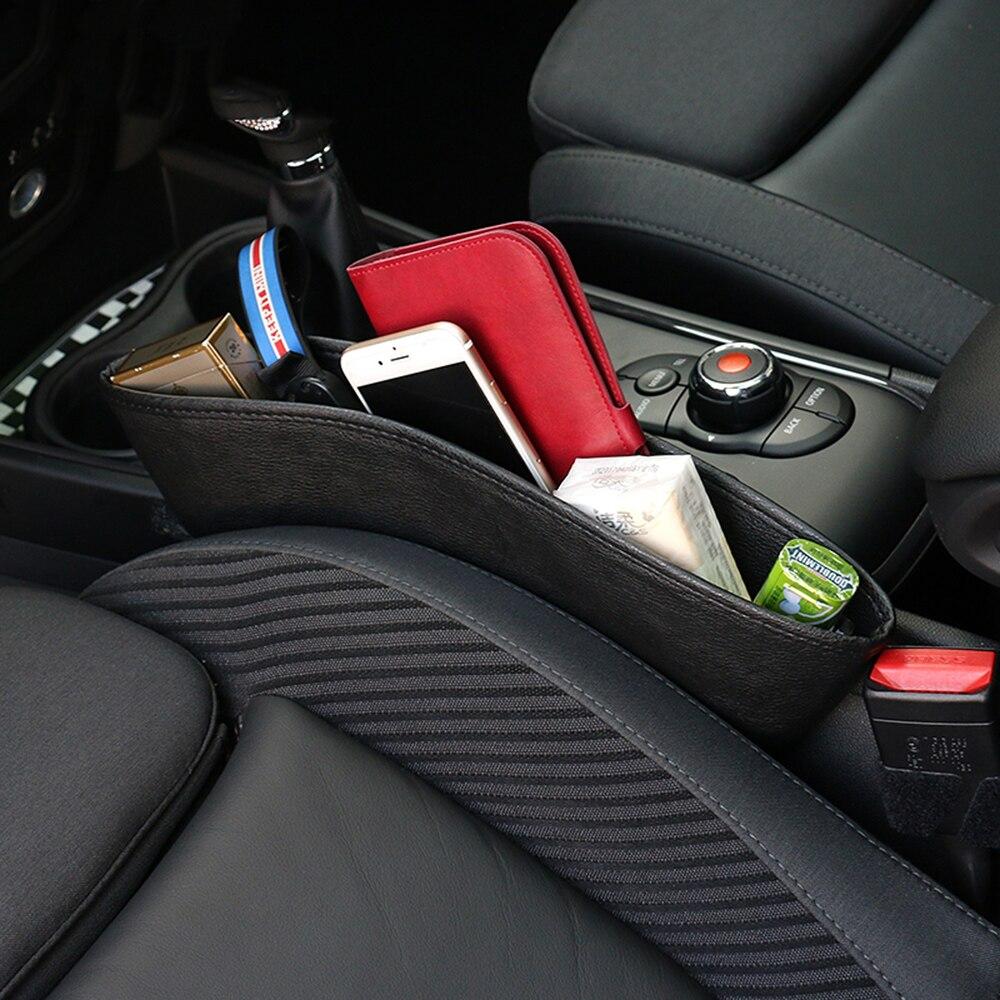 Para hueco de asiento de coche estuche de almacenamiento de bolsillo para...