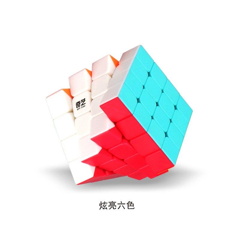 Huilong 4x4x4 профессиональный магический куб для соревнований, скоростные Кубики-головоломки, игрушки для детей, кубики для игры, 6 цветов, матов...