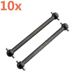 Großhandel 10 stück 08029 08059 Vorne Hinten Dogbone 89,5mm für 1/10 Skala Für HSP Himoto Nitro RC Autos