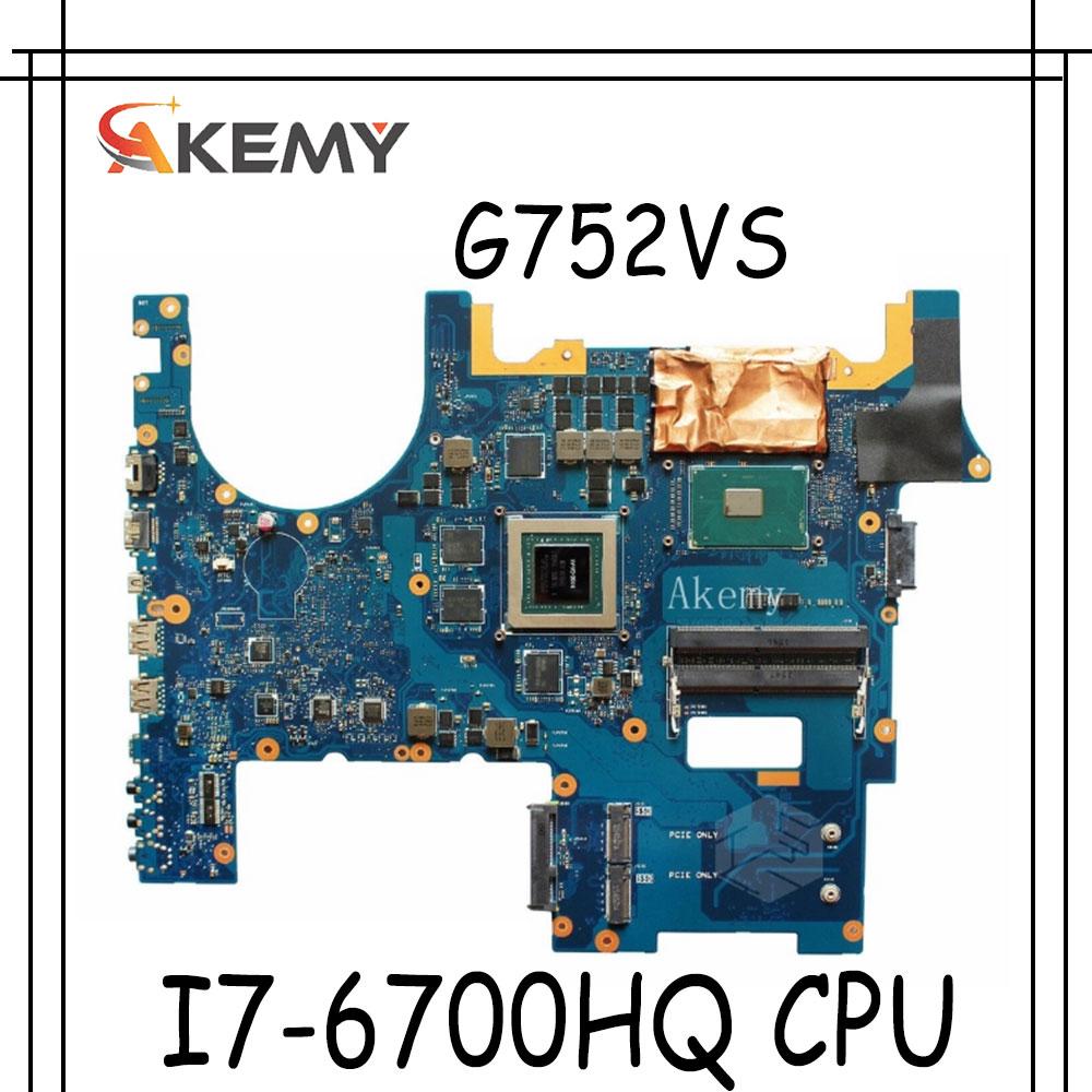 اللوحة الأم لأجهزة الكمبيوتر المحمول For Asus G752VS G752VM G752VY G752VT G752VL G752V G752 اختبارات لوحة Mainboard الأصلية