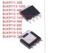 10PCS BUK9Y11-30B BUK9Y113-100E BUK9Y12-40E BUK9Y12-55B BUK9Y12-100E BUK9Y14-40B BIK9Y14-80E BUK9Y15-60E BUK9Y19-55B BUK9Y19-75B