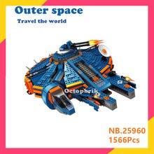 AUSINI 25960 Serie Bausteine Blau MILLENNIUM FALCON Special Edition Ziegel 75105 Spielzeug Für Kinder