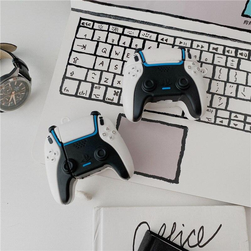 Чехол для Airpods 1 2, чехол для игрового автомата, чехол с контроллером для Airpod pro, мягкий силиконовый чехол для наушников, чехол для наушников чехол
