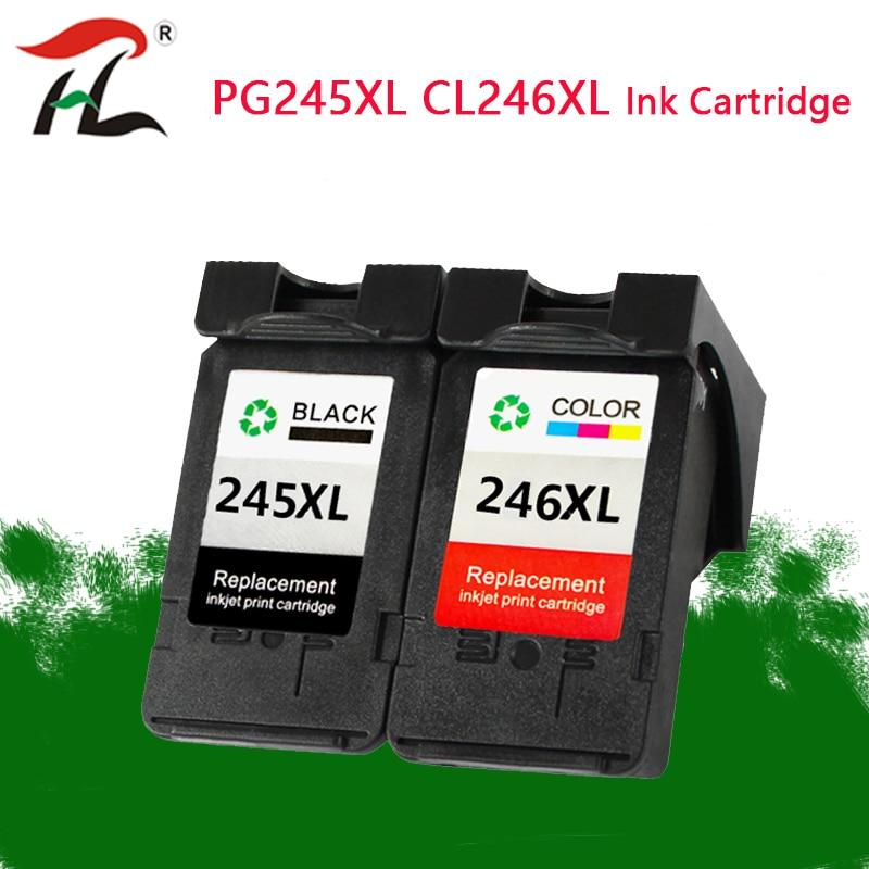 YLC PG245 CL246 الحبر خراطيش استبدال لكانون PG245XL 245XL CL 246XL ل Pixma iP2820 MX492 MG2924 MX492 MG2520 طابعة