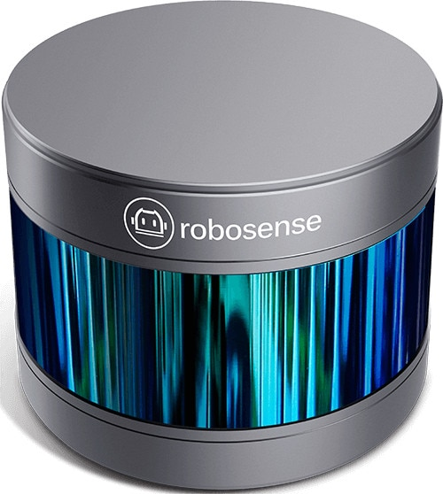 3D lidar сенсор RS-LiDAR-16 RoboSense 16-лучевой миниатюрный LiDAR автономные управляющие роботы восприятие окружающей среды и отображение UAV