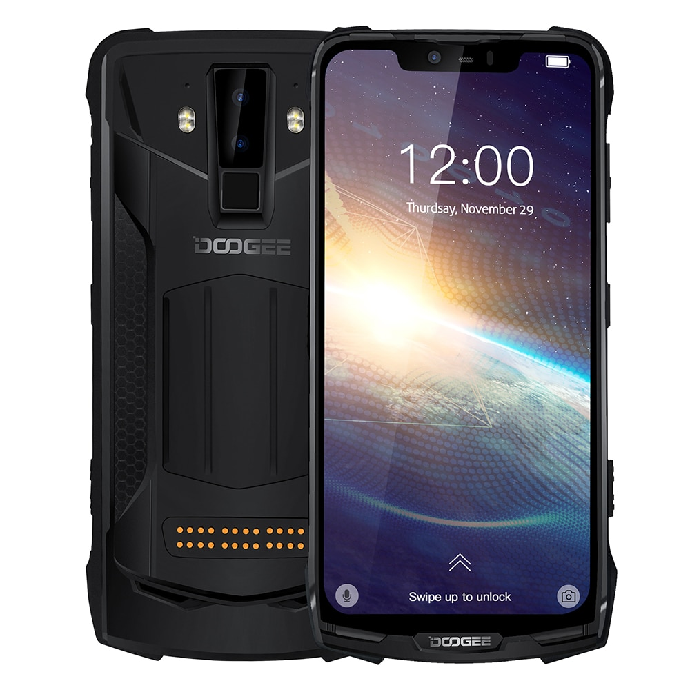 Перейти на Алиэкспресс и купить DOOGEE S90 Pro смартфон с 5,99-дюймовым дисплеем, восьмиядерным процессором Helio P70, ОЗУ 6 ГБ, ПЗУ 128 ГБ, 16 Мп + 8 Мп, Android 6,18, Android 9,0