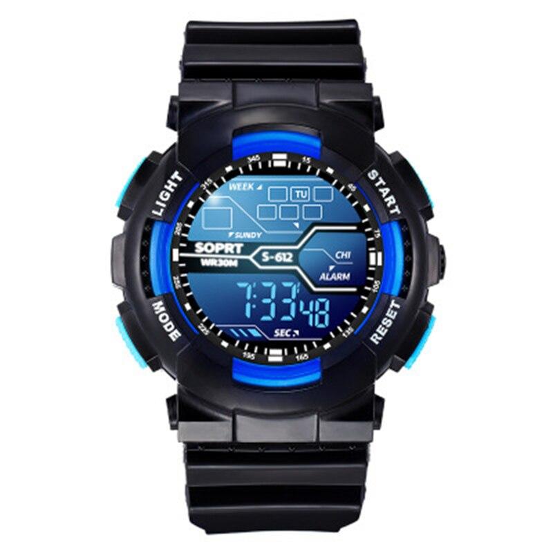30M Waterproof Electronic Wristwatch Sport Watch Clock Children Digital Watch For Boys Girls