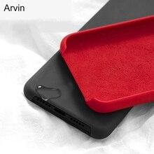 Funda Original Arvin para Motorola Moto G8 Plus Power E6 Play Plus, funda oficial de silicona líquida para Moto One Action Macro