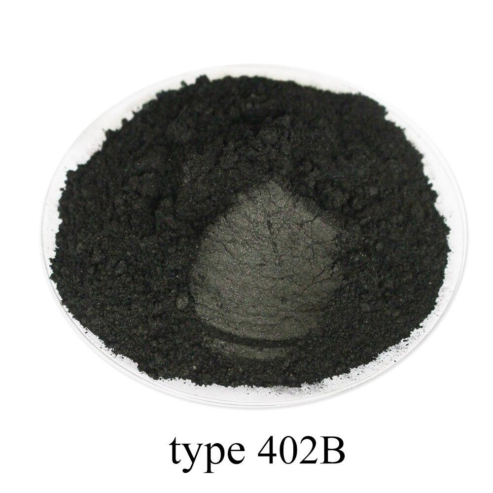 Тип 402B угольный черный пигмент слюдяной порошковый пигмент жемчужная пудра акриловая краска для творчества автомобильная краска мыло тени...