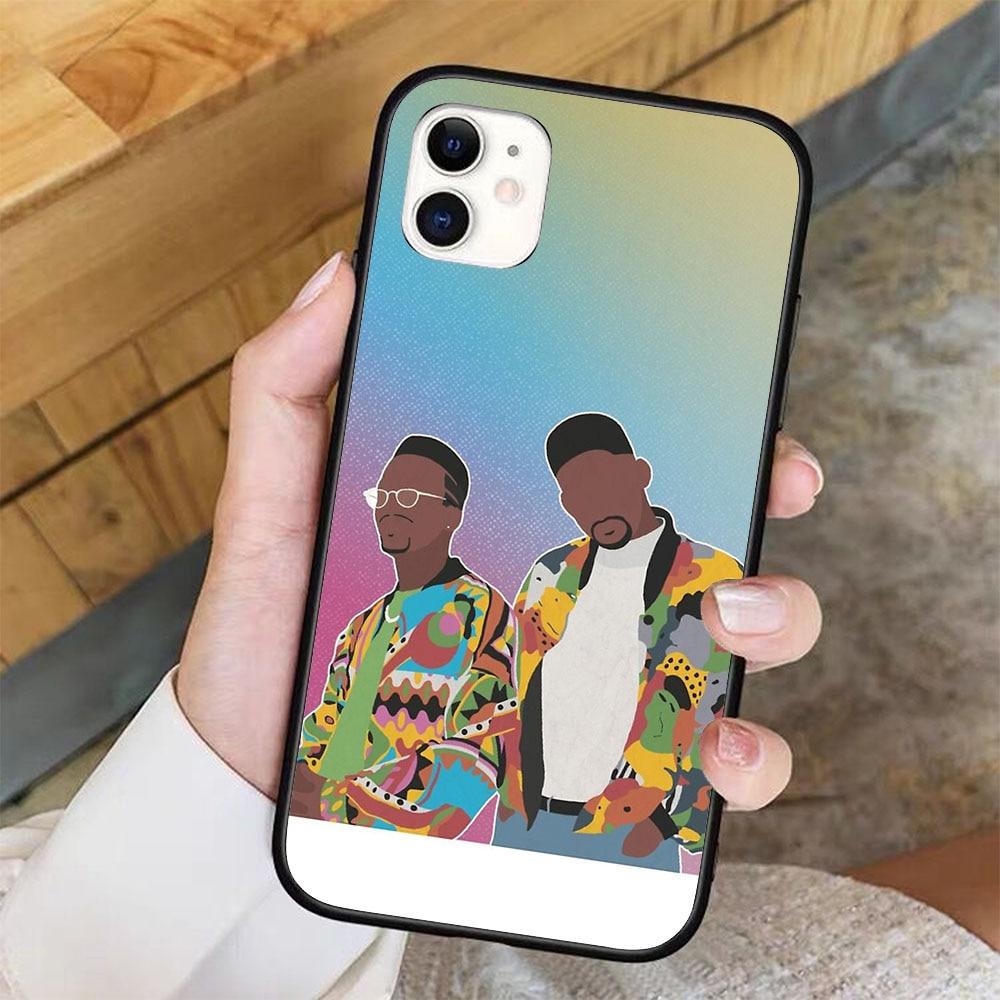 Dj jazzy jeff o príncipe fresco caso de telefone para iphone 11 pro x xr xs max 6 7 8 plus samsung s8 s9 s10 s20 a10 a50