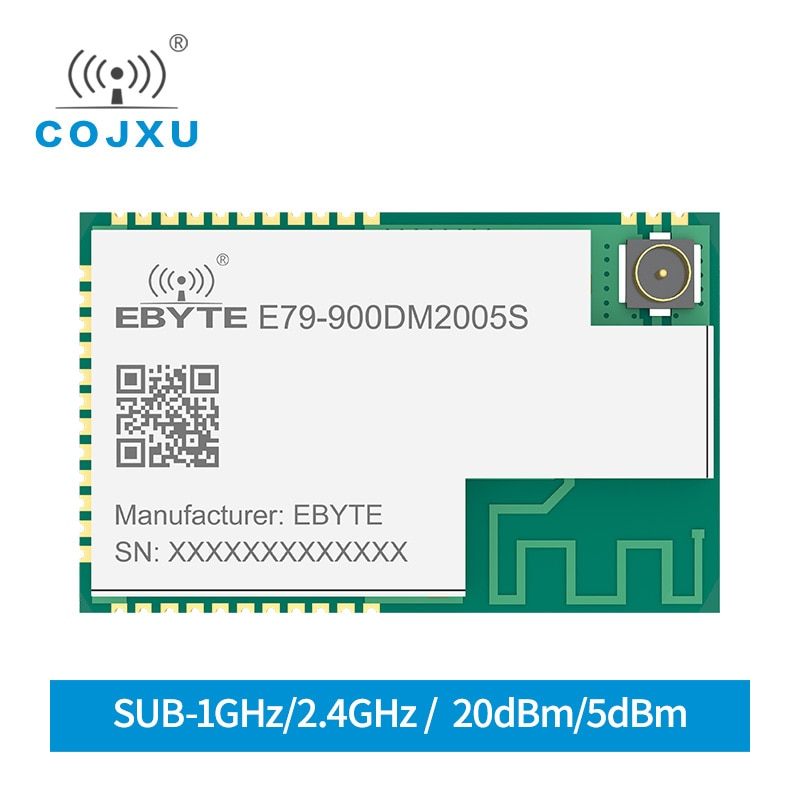868mhz 915mhz cojxu e43 900t13s3 low cost iot module development board uart wireless transceiver transmitter receiver CC1352P 868MHz 915MHz PA ARM IoT SMD IoT Transceiver Module 2.4GHz E79-900DM2005S Transmitter and Receiver