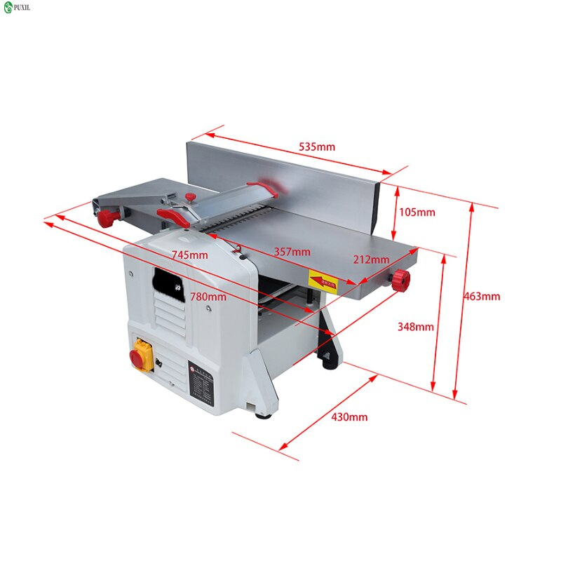 Multifunctional thick planer combined woodworking machine woodworking planer woodworking planer woodworking planer integrated ma enlarge