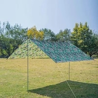 awning waterproof fly tarp tent shade super light moisture proof multi function practical canopy sunshade for camping hammock