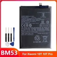 replacement phone battery bm53 for xiaomi 10t 10t pro mi 10t mi 10t pro rechargeable batteries with free tools