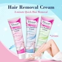 3 minute quick hair removal cream body cream bikini legs facial hair remover painless women men sensitive dry skin care disaar