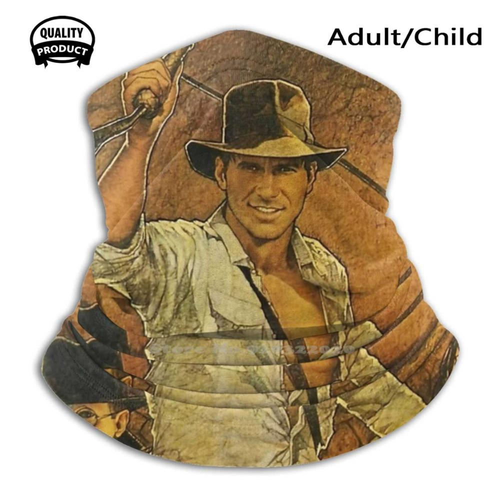 Vintage Oldposter Washable Breathable Reusable Print Mouth Mask Indiana Indiana Jones Indiana Jones Harrison Horrison Spielberg