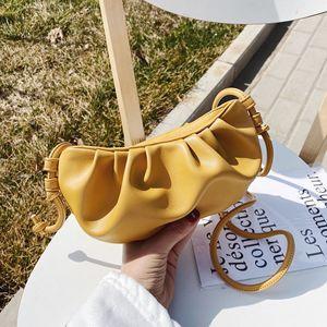 Cloud bag for Women Luxury Designer Small Cute Lady Crossbody Handbags Day Clutch Bags Pleated Dumpling Shoulder Messenger Bags