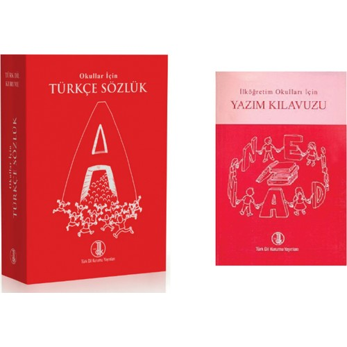 TDK Turkish Dictionary and Orthography (Spelling) Manual Set