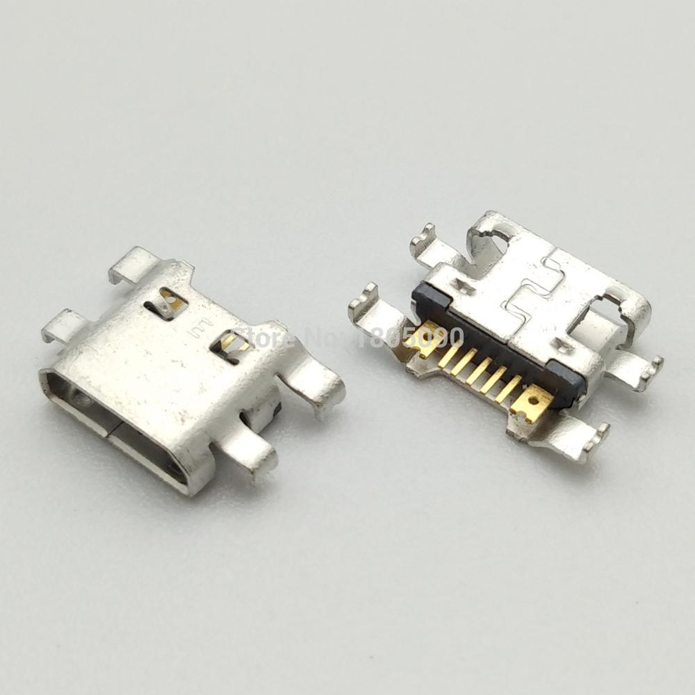 100pcs Micro USB Jack Charging Socket Port Plug Dock Connector For LG K4 K10 M160 K8 M200N K520 X Cam K580 Power K220DS K500N