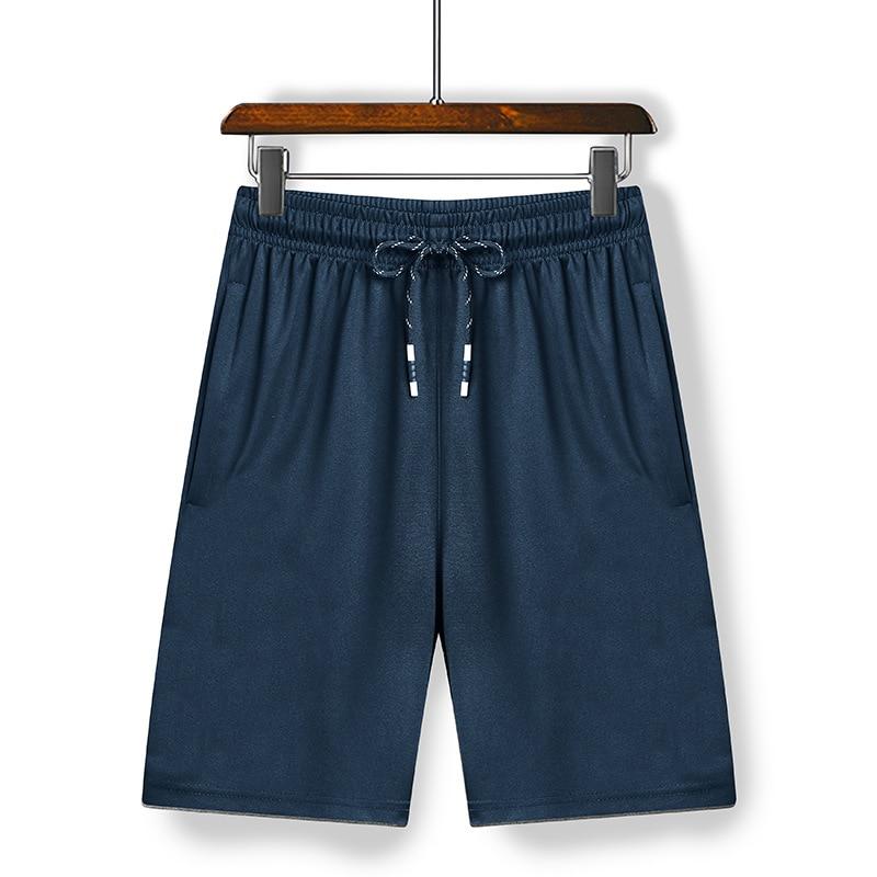 Новинка 2021, летние мужские модные брендовые шорты, дышащие мужские повседневные шорты, удобные мужские шорты для фитнеса