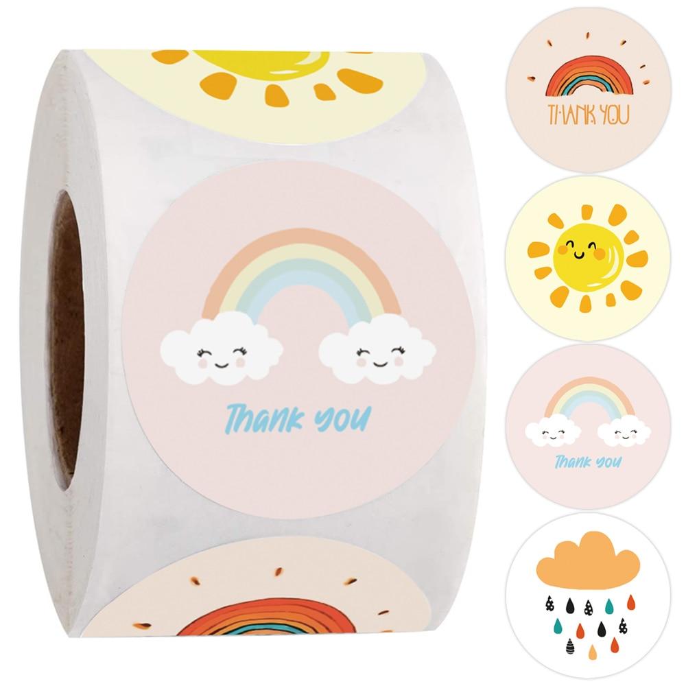 500-pcs-rotonda-cartoon-grazie-adesivi-carino-sole-arcobaleno-nuvole-autoadesivo-per-il-regalo-fatto-a-mano-decor-etichette-bambini-ricompensa-adesivi