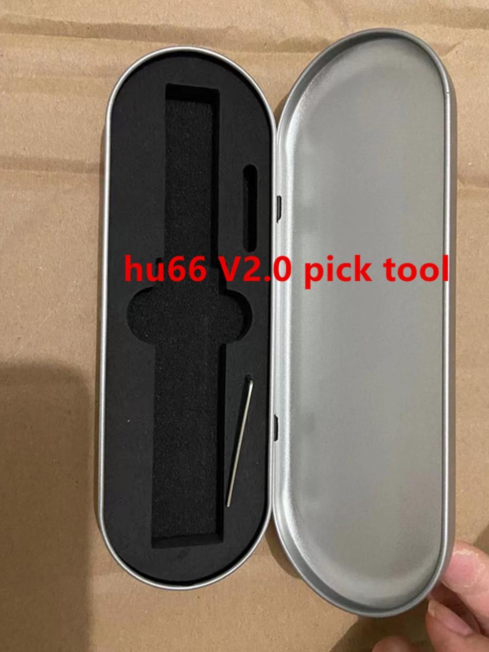 auto tool HU66 Super tool version 2 pick tool vs lishi 2 in 1 tool