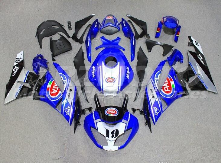 Kit de carenado completo de ABS para motocicleta Kawasaki, conjunto de carrocería...