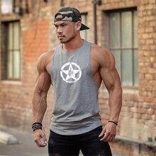 Camisetas sin mangas de algodón para hombre, ropa interior de culturismo, chaleco de entrenamiento para Fitness