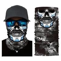 summer cool printed half mask bandana face cover neck gaiter bike outdoor sport fishing cycling ski hiking tube scarf men women