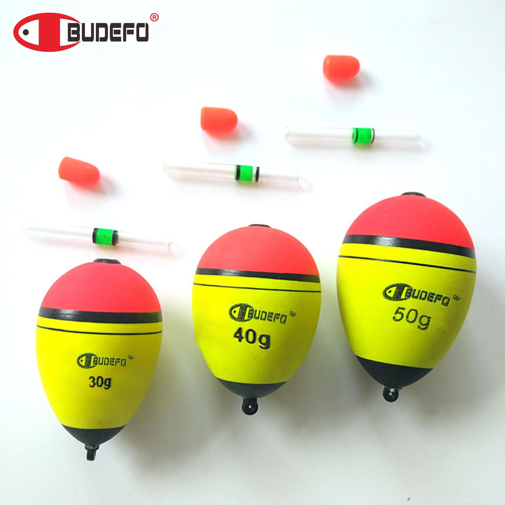 BUDEFO5Pcs de calidad superior boya para pescar 5-80g EVA boya mar cebo de pesca accesorios de equipo de pesca de carpa pesca float boya