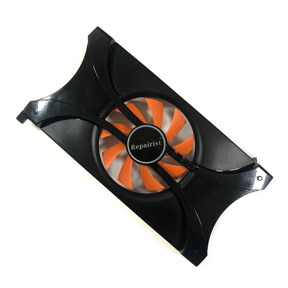 PLA08015B12HH GPU видео кулер вентилятор для PALIT GTS450 GAINWARD GTX550Ti видеокарта охлаждающий вентилятор как замена