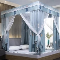 nordic style mosquito net summer fully enclosed king size mosquito net bed room muggen gaas household products bs50mn