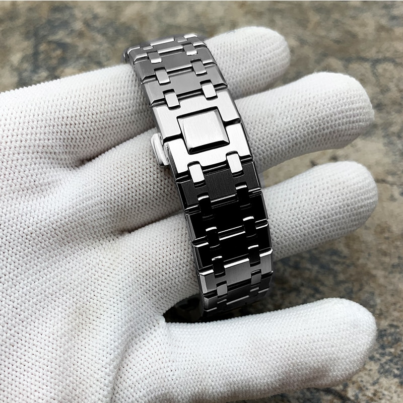GMA-S2100 Mini Mod kit Watch Case Watch Band DIY Stainless Steel for Smallest GMAS2100 New All Metal Bezel Strap Replacement enlarge
