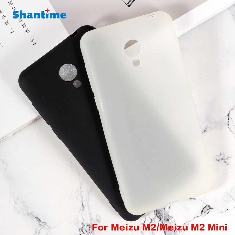 For Meizu M2 Gel Pudding Silicone Phone Protective Back Shell For Meizu M2 Mini Soft TPU Case