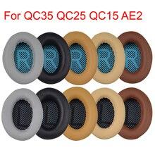 Headphone Cushion Ear Pads for Bose QC35 QC25 QC15 AE2 Replacement Earpads Cushion Cover