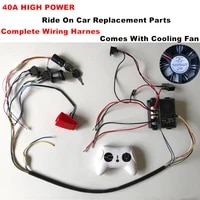 24v self made high power childrens electric car complete set of accessories including wires and 2 4g controller remote control